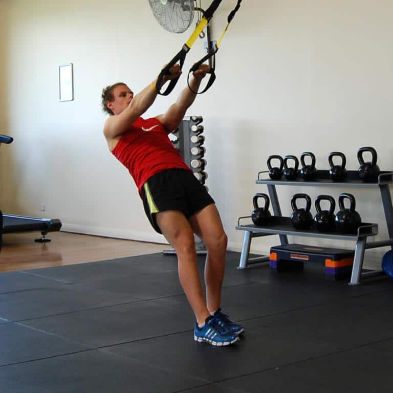 TRX Face Pull