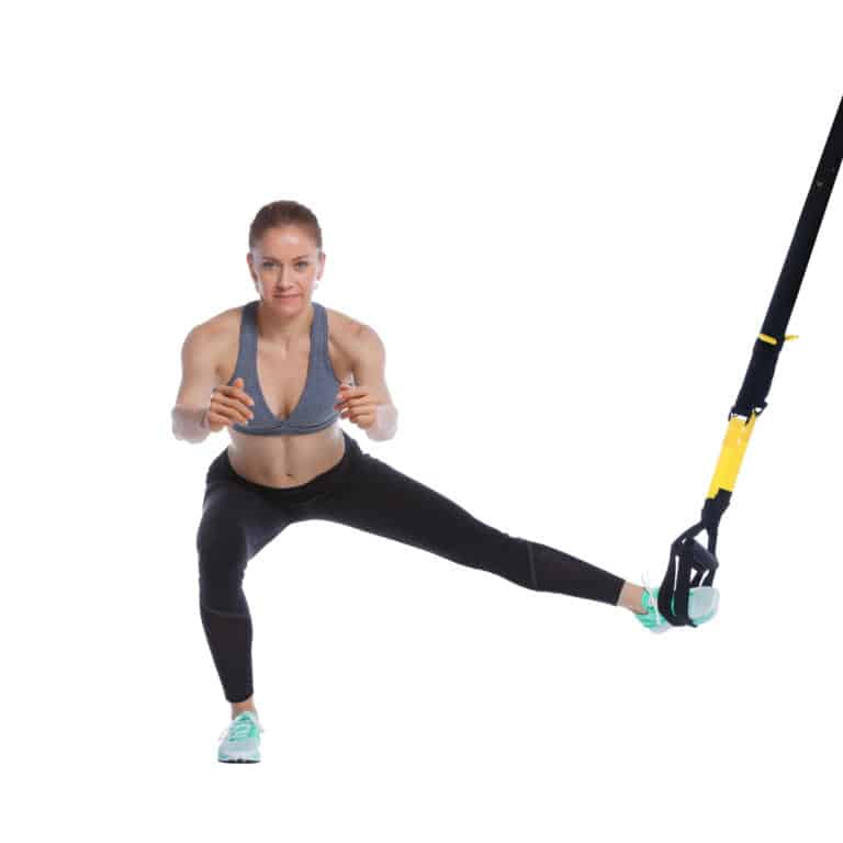 TRX Lateral Squat
